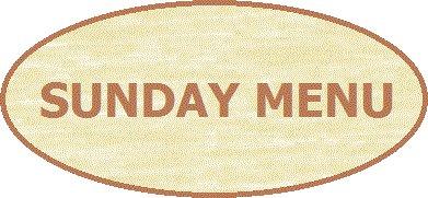 SundayMenu